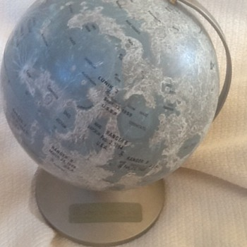 Replogle moon globe - Office