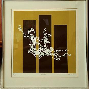 Mid Century Modern Art Print By Jim Foli