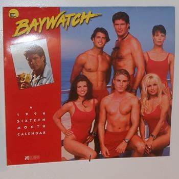 1996 Baywatch Calender