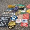 My collection of New York City street signage