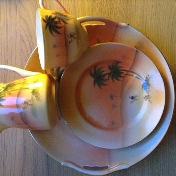 Noritake cup and plate