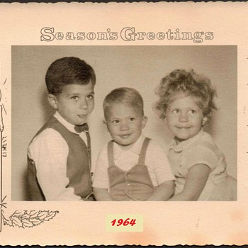 1964 - Family Christmas Photograph
