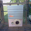 This is a GE tube radio model 495