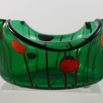 Loetz Ausführung 122 glass bowl, PN unknown, ca. 1911 - Art Glass
