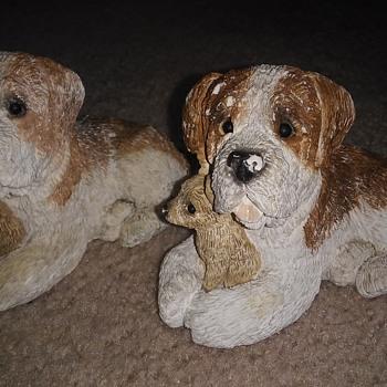 Chalk dogs