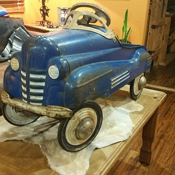 ALL ORIGINAL MURRAY PONTIAC COUPE PEDAL CAR - Toys