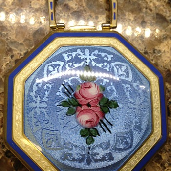 Guilloche Enamel Compact