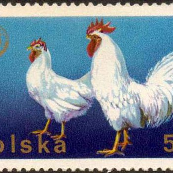 "Poland - ""Poultry"" Postage Stamps - Stamps"