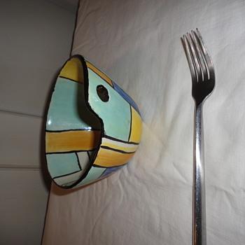 Art Pottery Bowl - Art Pottery