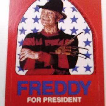freddy for president