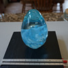 Mount St Helens Glass Paperweight - Signed