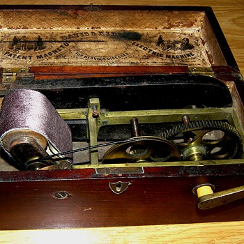Davis & Kidder 1854 Magneto Electric Machine - Electronics