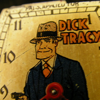 1935 Dick Tracy Wristwatch By New Haven - Wristwatches