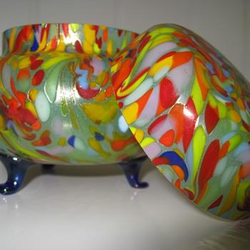 Loetz Ausführung 237 Jar - Art Glass