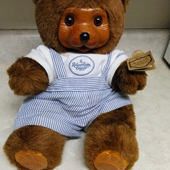 ROBERT RAIKES TEDDY BEAR