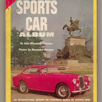 1953 Sports Car Album - Paper