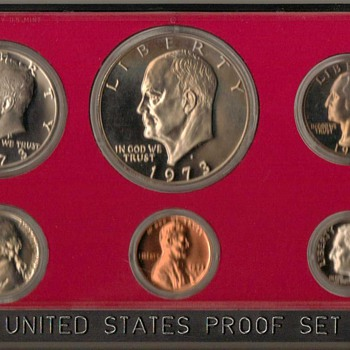 1973 S - U.S. Proof Coins Set - US Coins