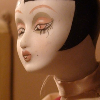 Louise Brooks Look-A-Like Flapper Doll 1982