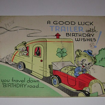Buddy's B-Day Cards 1938 - Cards