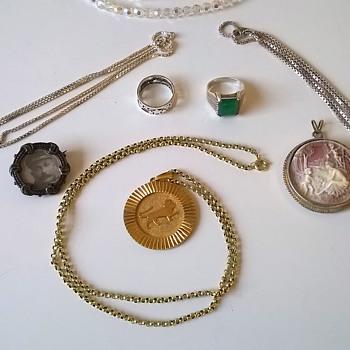 Flea Market Finds 12/03/1016 Part 1  - Fine Jewelry