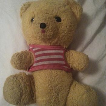 My Grampa's bear - Dolls