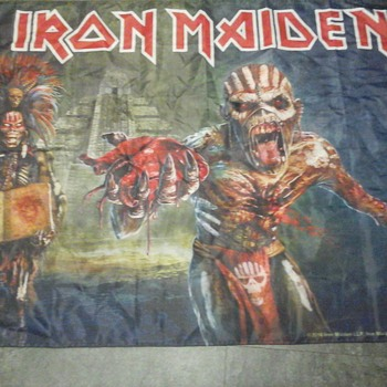 Book of Souls Tour Flag - Music
