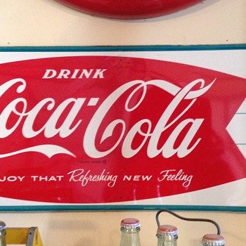 I know this is from the 60's from the slogan . But can anyone explain the date system on the bottom corners - Coca-Cola