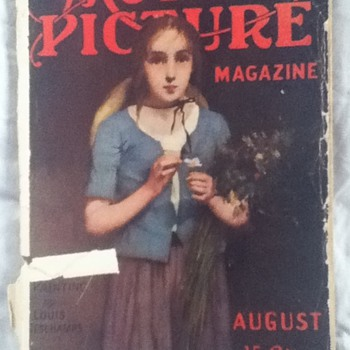"""Motion Picture Magazine"" from August 1914 - Paper"