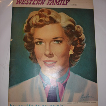WESTERN FAMILY 1951 - Paper