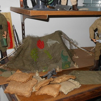 GI Joe Bivouc Set - Toys