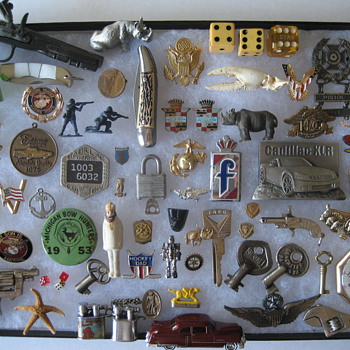 Some Smalls (And A Pocket Watch) - Medals Pins and Badges