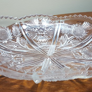 Oval Glass Dish