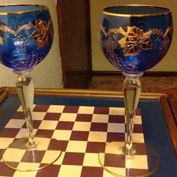 Rare cerimonial wine glasses