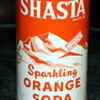 "Shasta Sparkling Orange Soda ""It Hasta be a Shasta"""