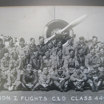 WW II 1944 Randolph Field Texas  Army Air Corps  Wall Photo - Military and Wartime