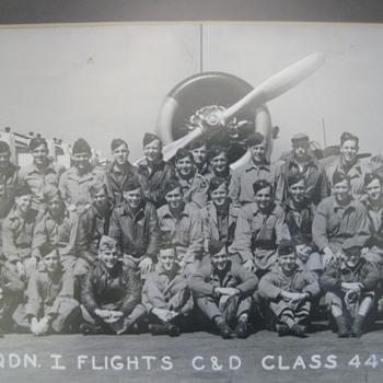 WW II 1944 Randolph Field Texas  Army Air Corps  Wall Photo