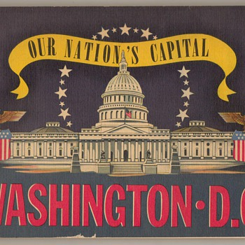 1942 Washington, DC Tour Book - Books