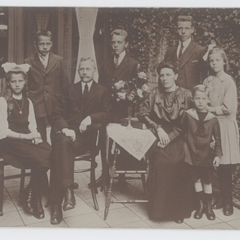 Family photos from around 1920