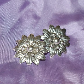Mexican Sterling Silver Earrings - Fine Jewelry