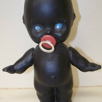 Black Kewpie Doll with Jumbo logo - Dolls