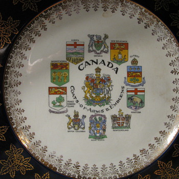 Canada Plate made in England - China and Dinnerware