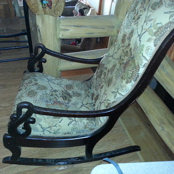 swan rocker - Furniture