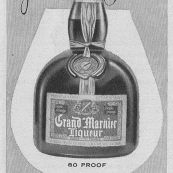 1954 Grand Marnier Advertisement - Advertising