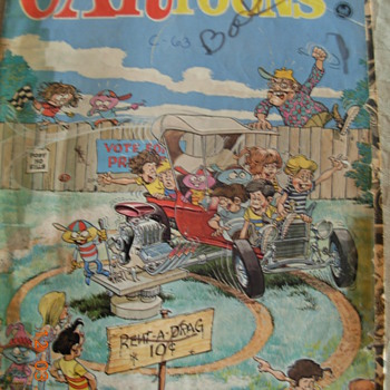 CARtoons (comic book from the 60&#039;s) - Comic Books