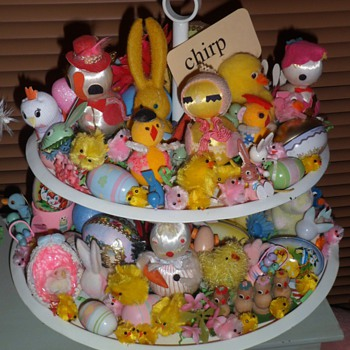Vintage Easter Bits and Bobs - Animals
