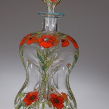Heckert/Max Rade-Type Poppy Kutrolf - Art Glass