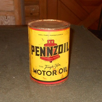 Vintage Pennzoil Can 1 Quart