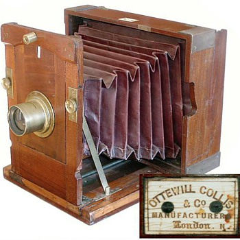 Ottewill & Collis Improved Kinnear Camera, early 1860s