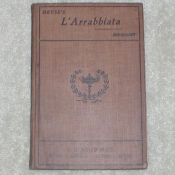 Heyse&#039;s L&#039;Arrabbiata - Books