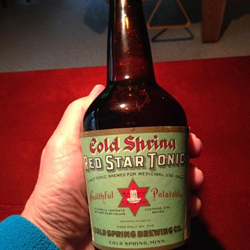 Cold Spring Red Star Tonic